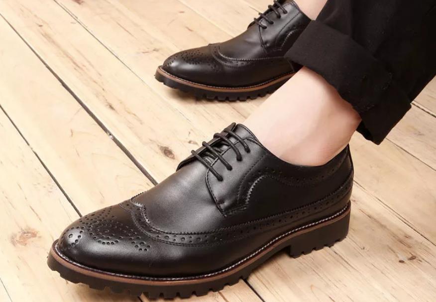 32b809b9fa993b Інтернет-магазин від ТМ «Лідер» пропонує осінні чоловічі туфлі в  асортименті, а також повний спектр професійних послуг